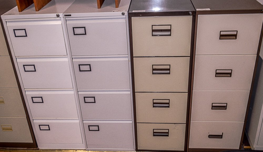 Four Drawer Filing Cabinets Griffin Office Solutions