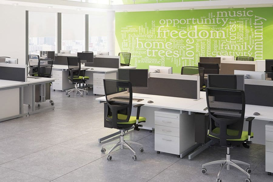 Ashford Range Large Office-Desking Solutions Griffin Office