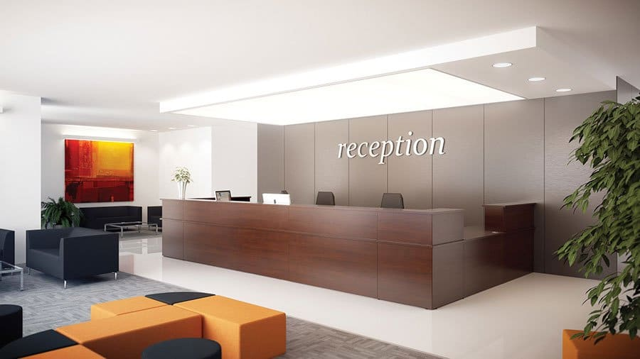 Ashford Range Reception Furniture Griffin Office