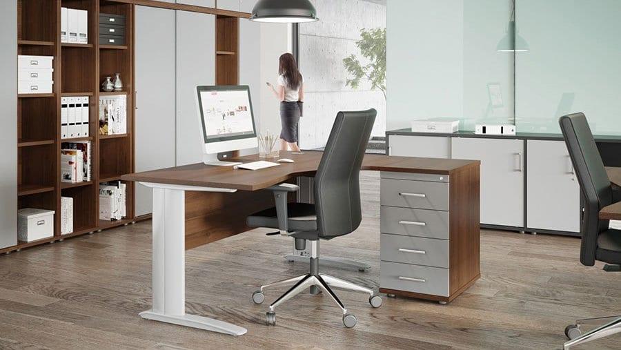 Komo Range Flexible Office Desking System Griffin Office