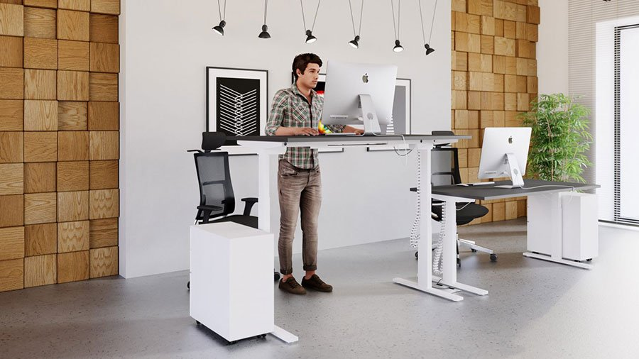 Leap Range Electric Adjustable Standing Desks Griffin Office