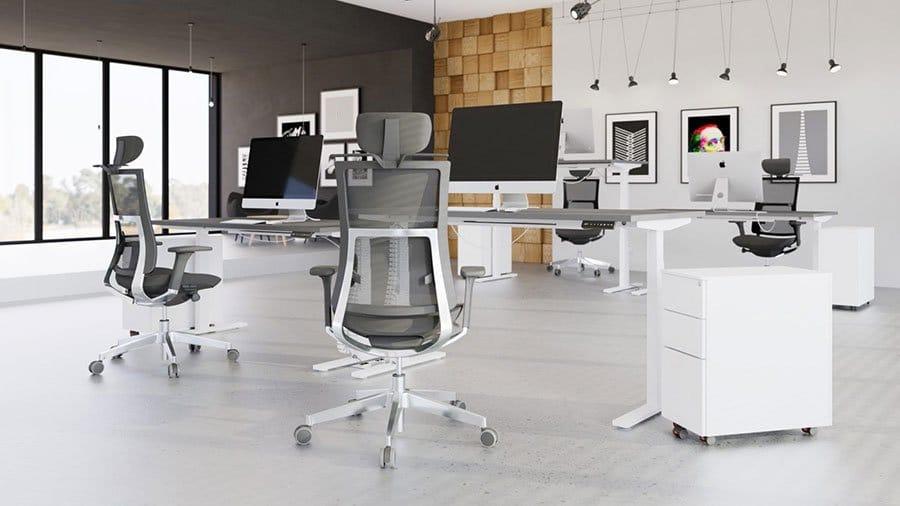 Leap Range Electric Adjustable-Standing Desks Team Griffin Office