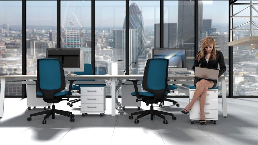 Switch Range Versatile Desking System Cityscape Griffin Office