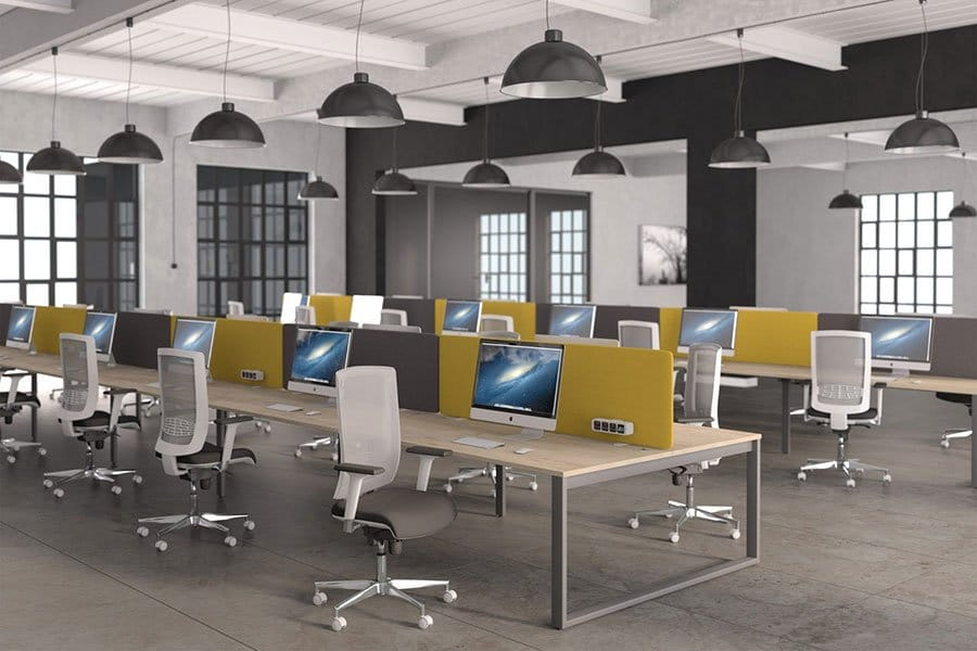 Switch Range Versatile Desking System Large Office Griffin Office
