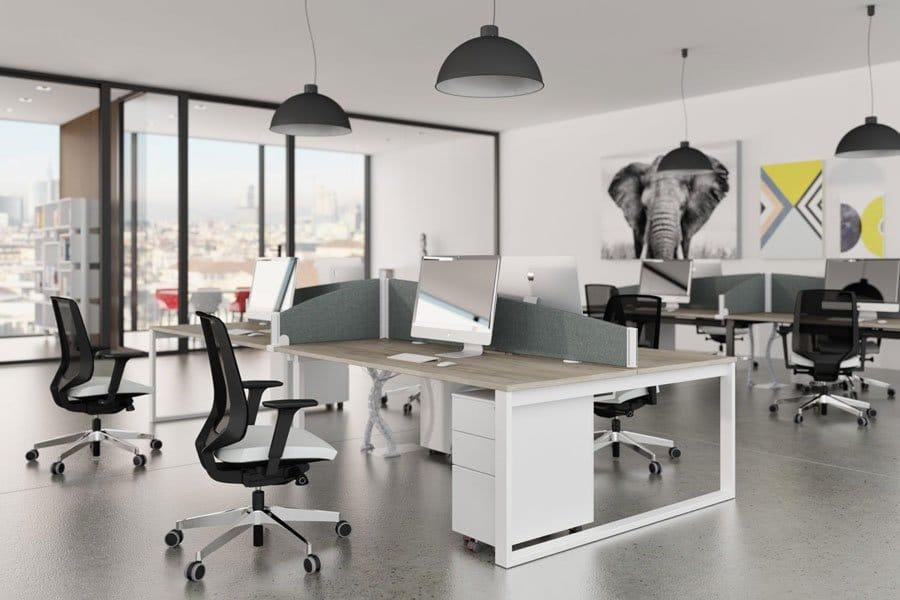 Switch Range Versatile Desking System Open Office Griffin Office