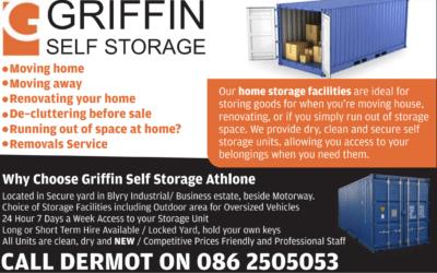 Self Storage in Athlone